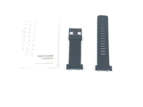 core accessory strap rubber black