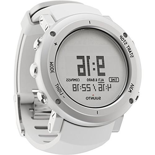 core aluminum altimeter watch white