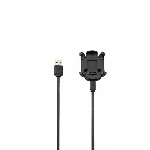 Meijunter Data Cradle Charging Dock Desktop Charging Clip Adapter for Garmin Fenix 3 HR/Fenix 3 GPS Watch