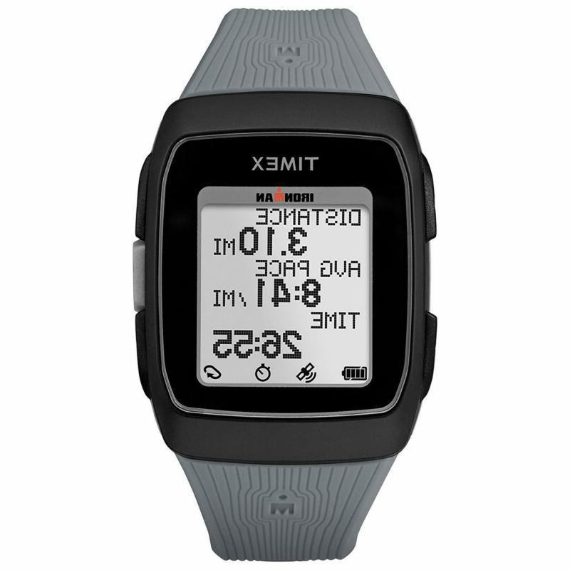 Digital Watch GPS Black Gray