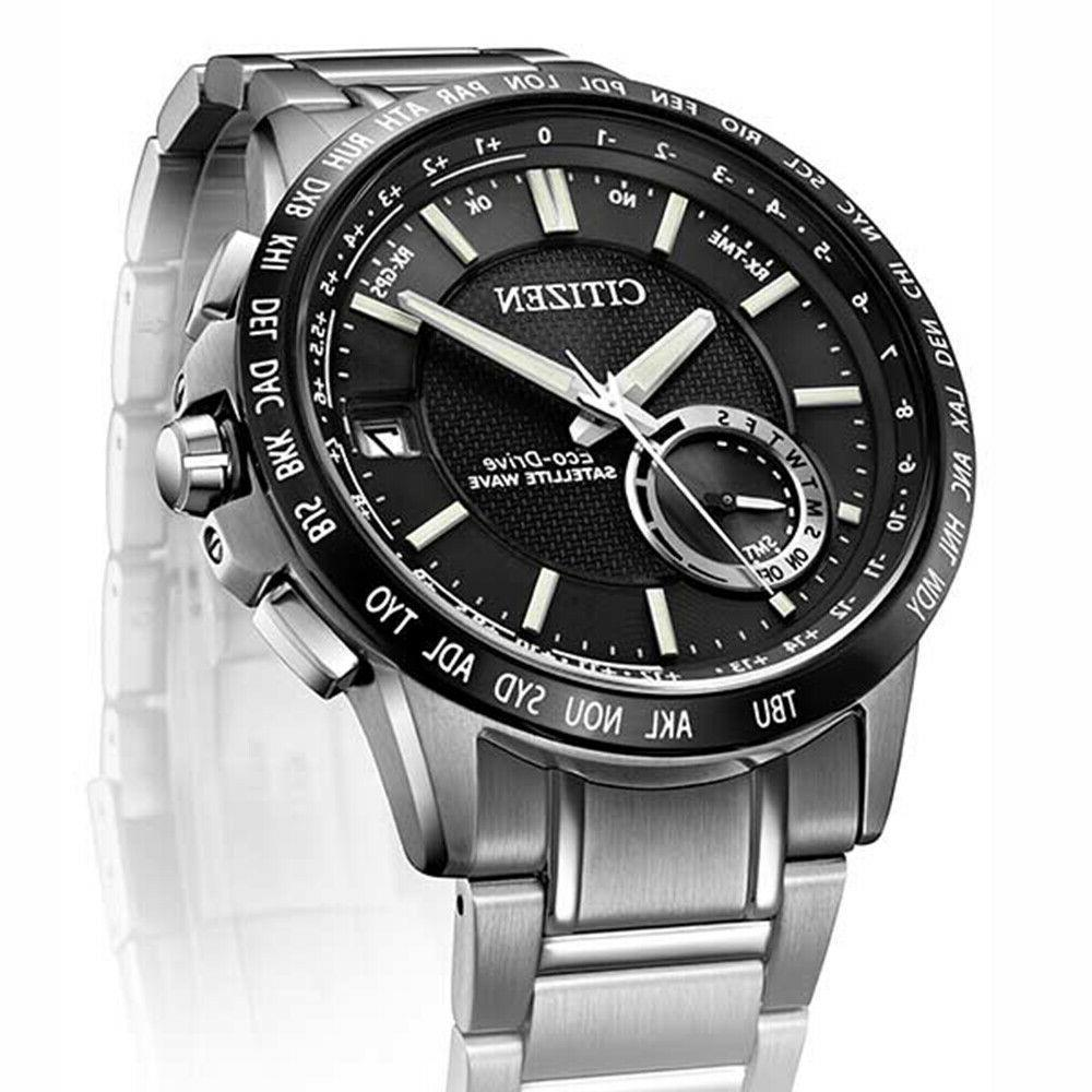 Citizen Drive Satellite Wave World GPS Dial