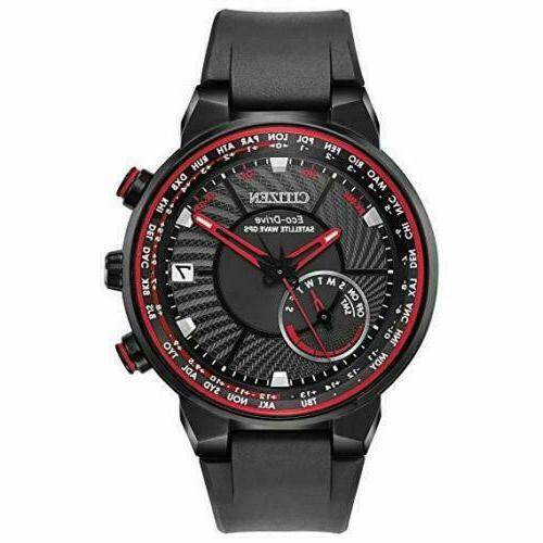 eco drive men s limited black satellite