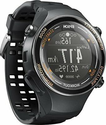EPSON Wristable GPS Watch GPS Function Running SF-850PJ