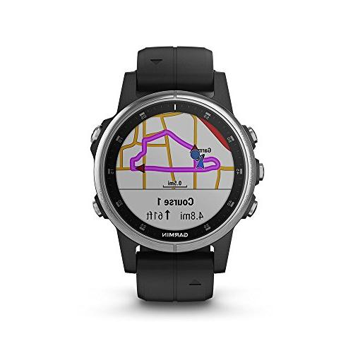 Garmin fēnix - smartwatch with GPS, and Pay Silver with 010-01987-20