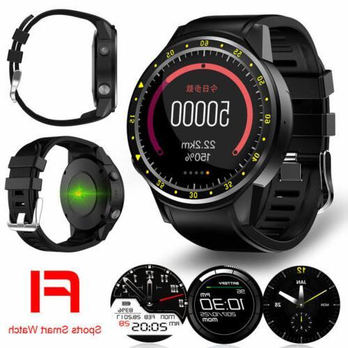 F1 Smart Watch Phone GPS Compass Camera TF Card Bluetooth He
