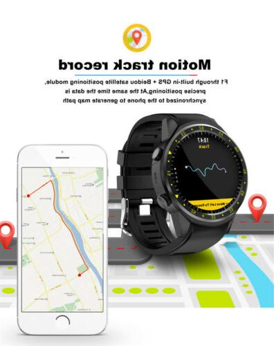 F1 Smart GPS Card Heart Android iOS