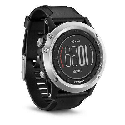 Garmin GPS Watch with Titanium and Sport