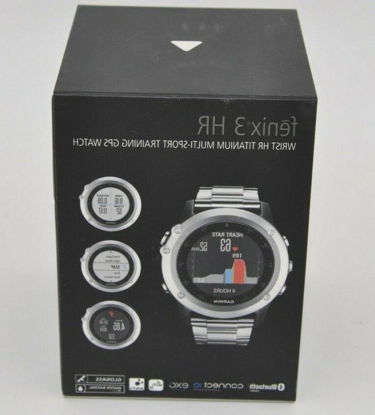Garmin Fenix Wrist Training GPS Smart BRAND NEW