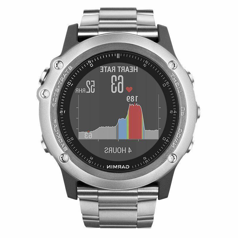 Garmin HR Wrist GPS Smart NEW