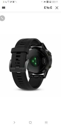 Garmin fenix 5 Black Sapphire with Black Band Multisport GPS