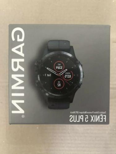 fenix 5 plus gps watch sapphire heart