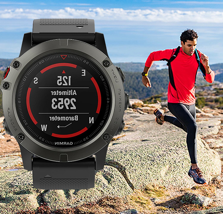 fenix 5x sapphire multisport gps watch black