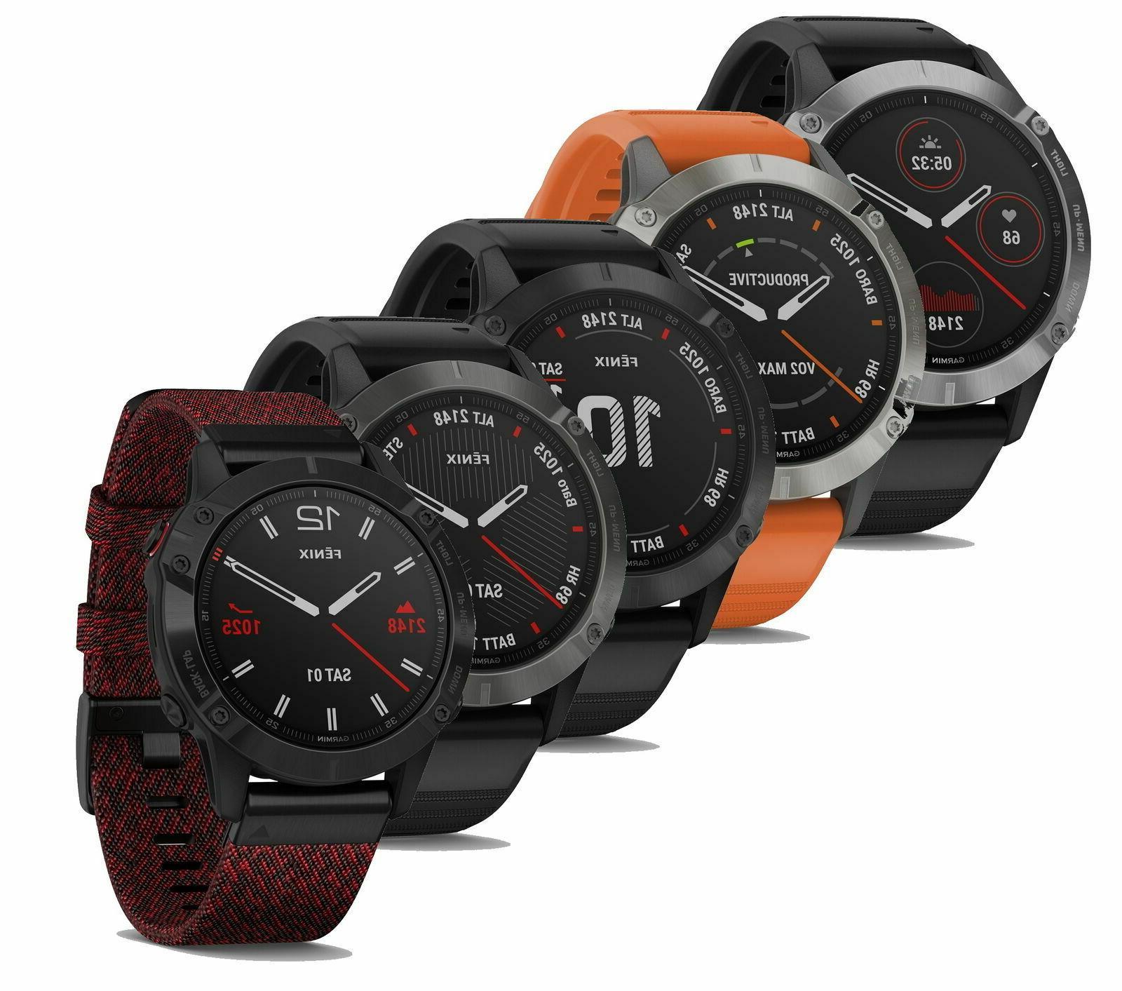 Garmin Fenix 6 GPS PRO or Premium edition