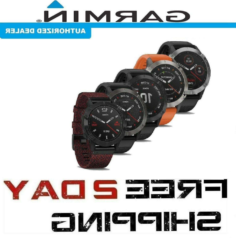 fenix 6 multisport gps watch standard pro