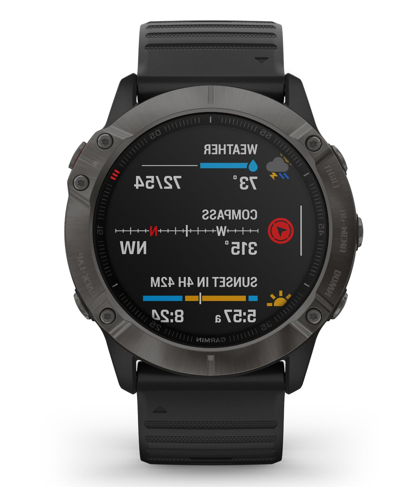 Garmin fenix Multisport - Carbon Black