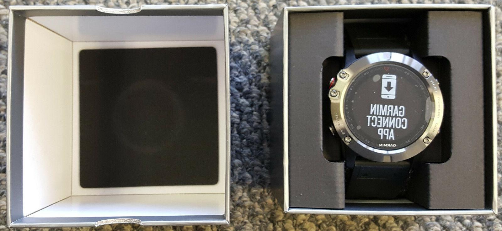 Garmin Fenix 5X Multisport Heart Monitor Watch