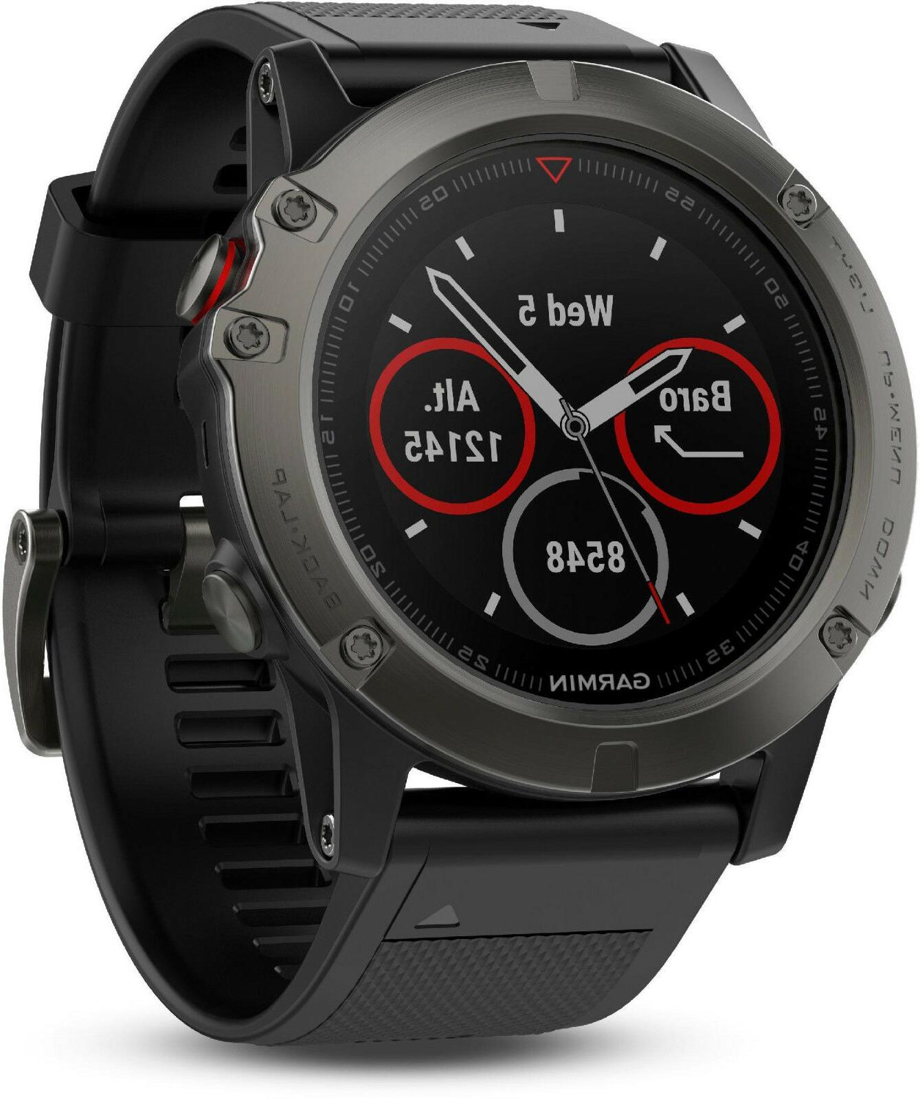 Garmin Fenix Sapphire Multisport GPS Monitor Watch 010-01733-00