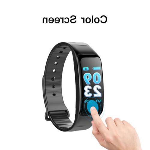 Fitness Heart Monitor Color IP68 Waterproof iPhone GPS
