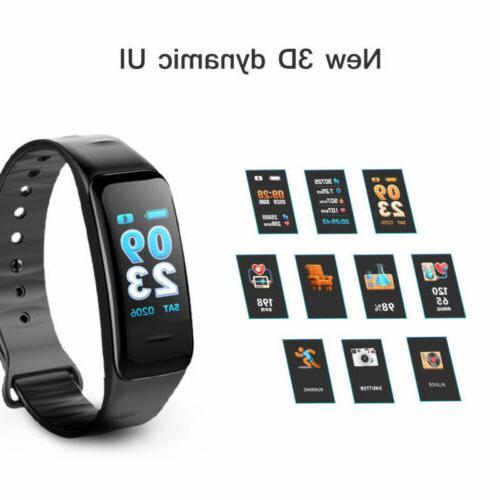 Fitness Monitor Watch IP68 Waterproof GPS