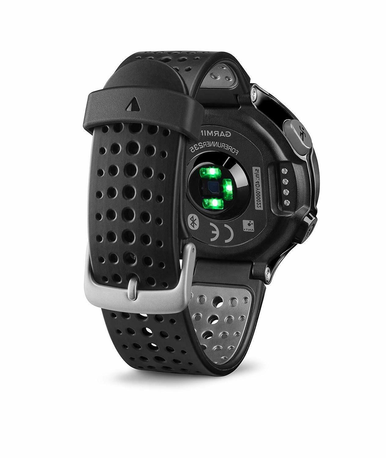 Garmin Forerunner and Gray GPS and