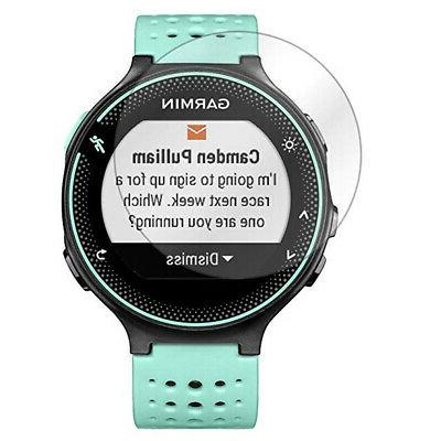 Garmin 235 Watch with Monitor Protector