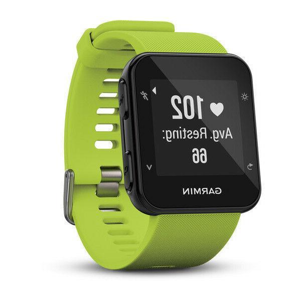 Garmin Forerunner 35 Running Watch Rate - Colors !