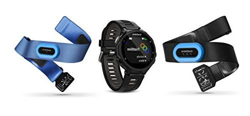 Garmin Forerunner Bundle | Includes HRM Tri HRM Chest Screen Portable | Multisport GPS