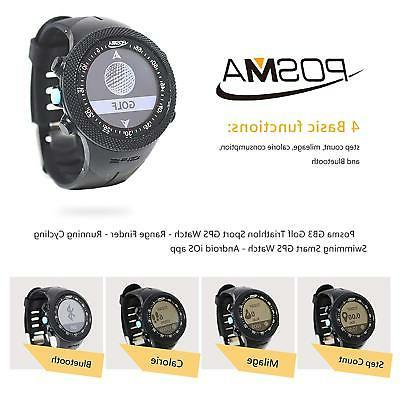 Posma Sport GPS Watch Finder Watch