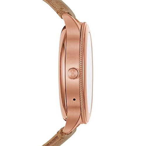 Fossil 3 Venture' Steel and Leather Watch,
