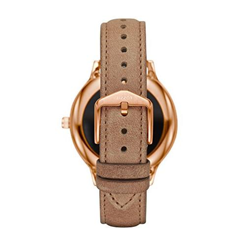 Fossil 3 Touchscreen Steel Watch, Color:Beige