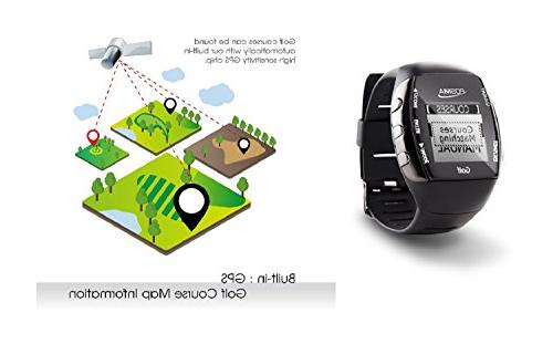 POSMA GM2 Fitness GPS Finder - Built-in Green Heart Rate Smartphone iPhone