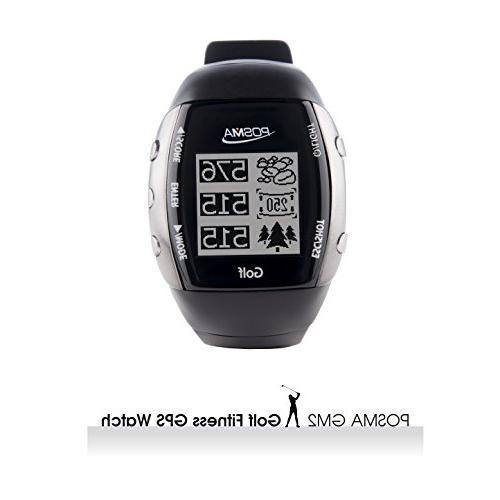 POSMA Golf GPS Watch Finder Rate iOS to Connect Smartphone