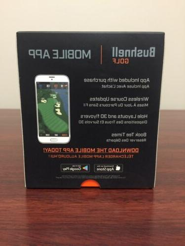 Bushnell GPS Rangefinder Black/Blue Never Brand