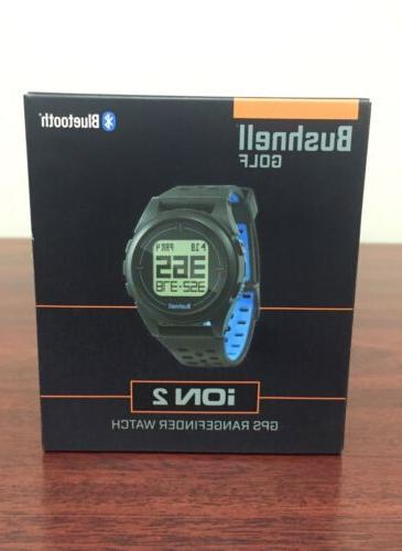 golf ion 2 gps rangefinder watch black