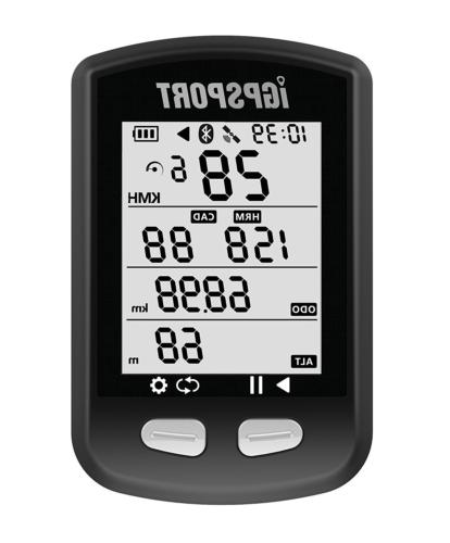 gps bike computer igs10 cycling computer ant