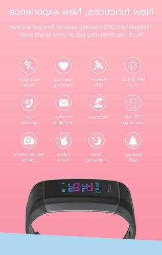 GPS Built-in Band Watch Sport Tracker P