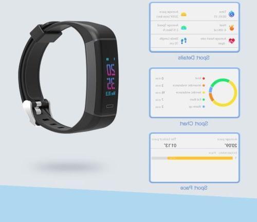 GPS Band Watch Sport Tracker P