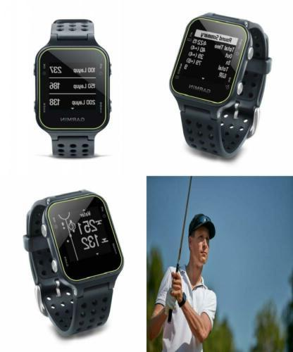 GPS Golf Course Handheld Unit Watch Sports w/ Step Tracking