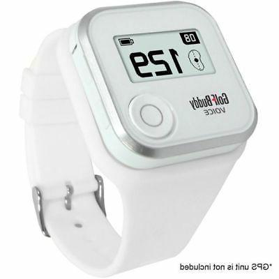 gps rangefinder wristband only white
