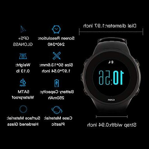 EZON Running Smart Watch,Heart Rate Monitor,Bluetooth,Waterproof T958
