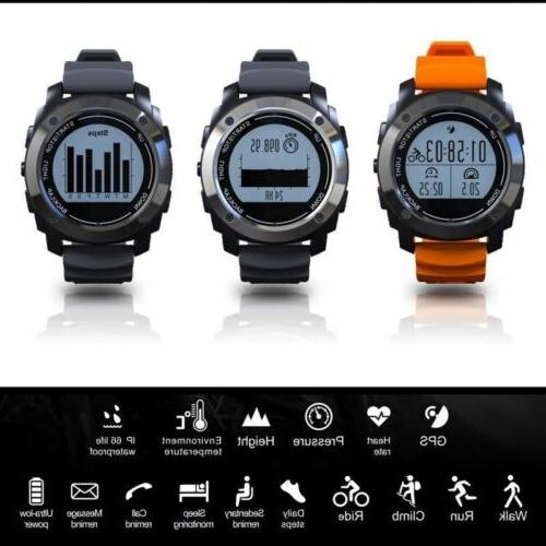 GPS Smart With Bluetooth Waterproof Outdoor Sports