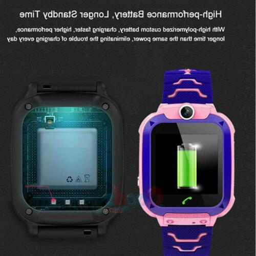 GPS Smart Tracker Kid Waterproof Locator Call