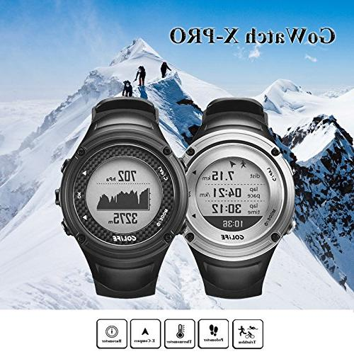 GPS GOLiFE X-pro Adventurer Running Watch for