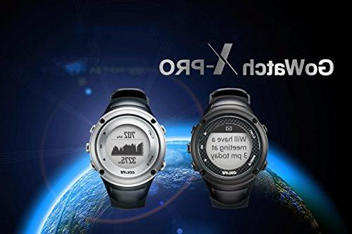 GPS with Barometer GOLiFE X-pro Running Watch