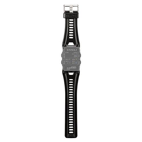 gps watch strap black