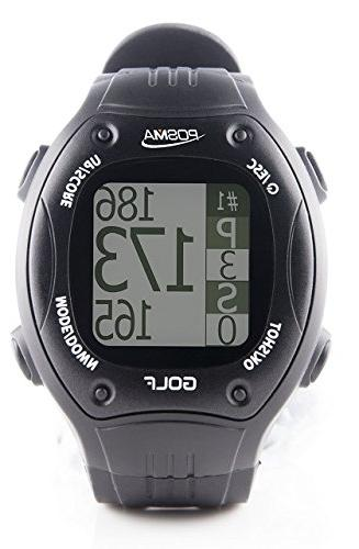 POSMA GT1 GPS Finder, Courses, no Download Subscription, Black, incl. US, Canada, Europe, Zealand