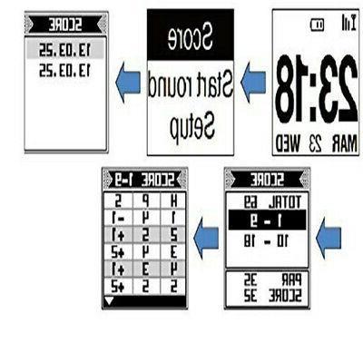 POSMA GT1+ Golf GPS Range Finder, Preloaded