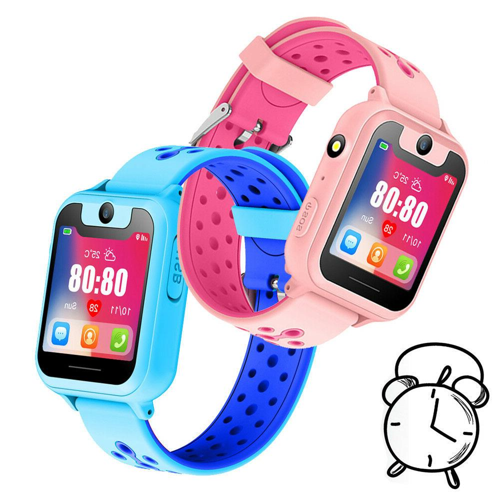 Anti-Lost Smart Watch GPS Tracker Phone Call SOS Learning To