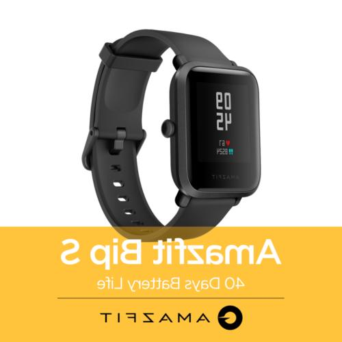 huami bip s smart watch heart rate
