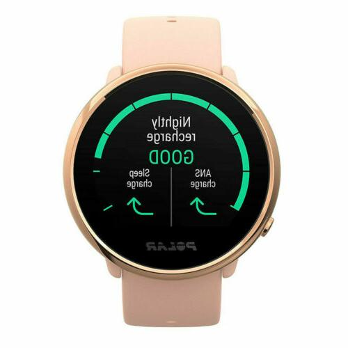 Polar Ignite Fitness GPS Sleep Tracking / Rose